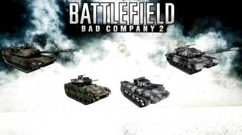 Battlefield Bad Company 2 - M240C PKT sounds (coaxial machine gun)