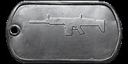 BF4 SCAR-H Master Dog Tag