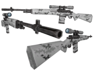 BFH Winter Camo M-21 Render