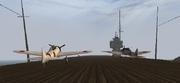 BF1942 IJN SHOKAKU FLIGHT DECK