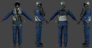 PLA pilot (Jet)