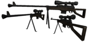 BFH National Uber Sniper Rifle Render