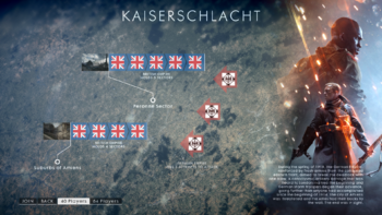 BF1 Operations Kaiserschlacht Map