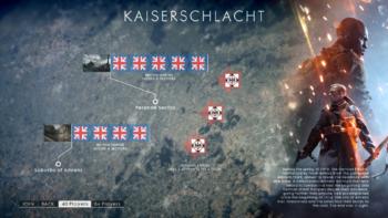BF1 Operations Kaiserschlacht Map