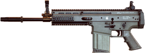 SCAR-H | Battlefield Wiki | FANDOM powered by Wikia