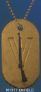 BFV M1917 Enfield Sharpshooter Dog Tag