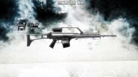 Battlefield Bad Company 2 - MG36 Sound
