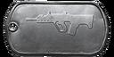 BF4 SAR-21 Master Dog Tag