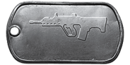 BF4 SAR-21 Master Dog Tag