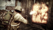 BFBC2V Flametrower Action