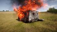 BF1 A7V Destroyed Back