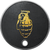 Battlefield 1 Hand Grenade Dog Tag