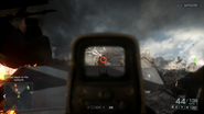 Battlefield 4 Holographic Sight Screenshot 1