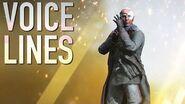 Battlefield 5 - Leaked Elite Voice Lines - Wilhelm Franke (Unannounced Elite Set)