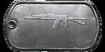 BF4 AEK-971 Master Dog Tag.png