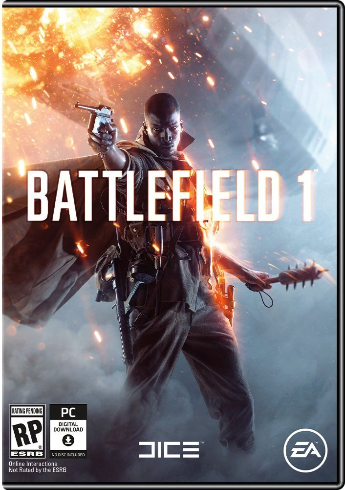 Image result for Battlefield 1 cover pc