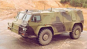 GAZ - 3937 Vehicle
