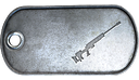 JNG-90 Proficiency Dog Tag