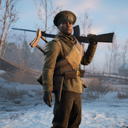 Battlefield 1 White Army Medic