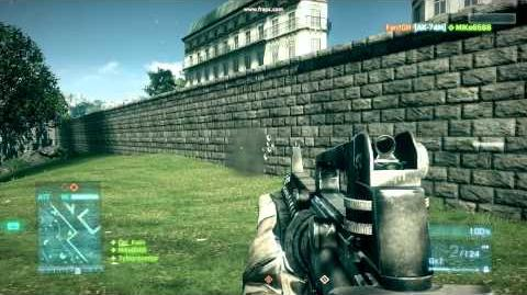 Battlefield 3 (Бета) - Стрельба из M16A3