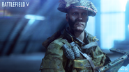 Battlefield V Promotional United Kingdom Medic