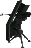 Bf4 gun shield and tripod