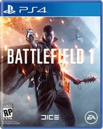 Battlefield 1 PS4 Cover Art