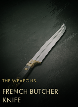French Butcher Knife Codex Entry