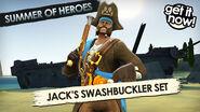 BFH Jack's Swashbuckler Set Promo