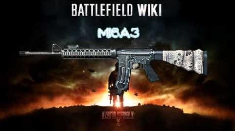 Battlefield 3 - M16A3 Sound