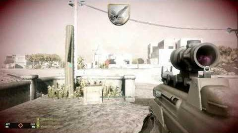F2000 Gameplay and Review (Bad Company 2)