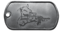 BF4 Assault Goat Dog Tag