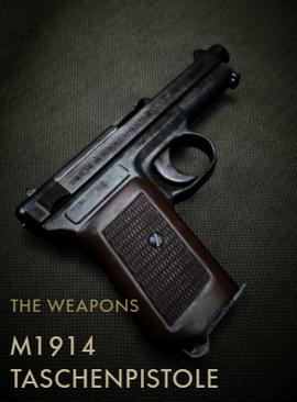 M1914 Taschenpistole Codex Entry