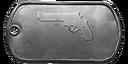 BF4 .44 Magnum Master Dog Tag