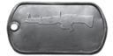 BF4 M60-E4 Master Dog Tag