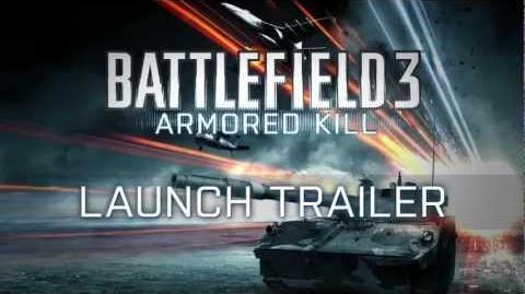 Battlefield 3 Armored Kill - Трейлер запуска