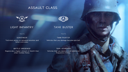 Battlefield V Assault Combat Roles