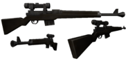 BFH National Sniper Rifle Render