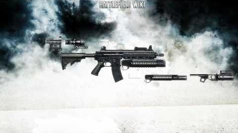 Battlefield Bad Company 2 - M416 Sound