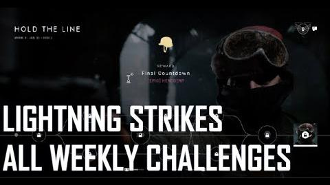 All Weekly Challenges - Battlefield V Lightning Strikes