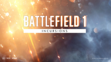 Battlefield 1 Incursions Splash Art