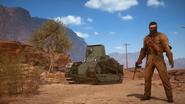 Battlefield 1 Incursions Tank Hunter
