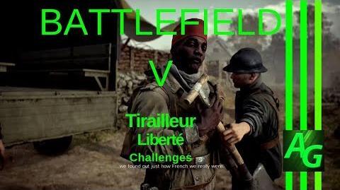 Battlefield V Tirailleur - Liberte - Challenges