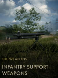 Infantry Support Weapons Codex Entry