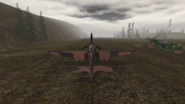 Yak-9 rear view.BF1942
