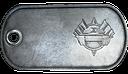 BF3 Tank Superiority Winner Dog Tag