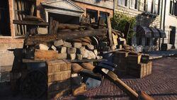 BFV Wooden Barrier