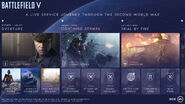 Battlefield V Tides of War December 2018 - Spring 2019 First Roadmap