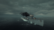 BF1 L-Class Destroyer Minelayer Front