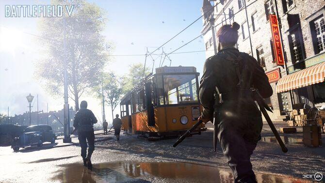 Battlefield V Rotterdam Trailer Screenshot